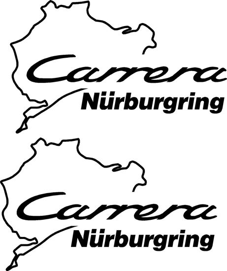 Picture of Porsche 911 Carrera  Nurburgring Decals Stickers