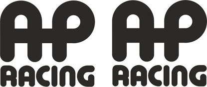 "Picture of ""AP Racing""Decals / Stickers"
