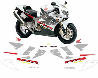 Picture of Honda VTR 1000 SP2  2002 full Restoration Decals / Stickers