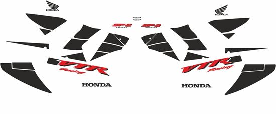 Picture of Honda VTR 1000 SP2  2002 Custom colours full Restoration Decals / Stickers