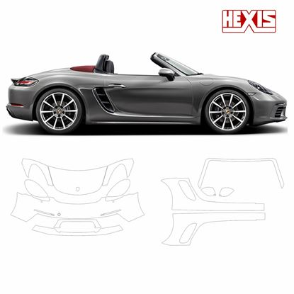 Picture of Boxster 718 2017  Pre Cut PPF front and side protection
