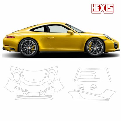 Picture of 911 / 991  2017  Carrera GTS / 4GTS / Targa Pre Cut PPF Front and Side protection kit