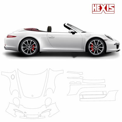 Picture of 911 / 991  2012  Carrera S Pre Cut PPF full Front and side protection kit