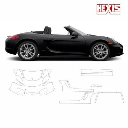 Picture of Boxster 987 2013  Pre Cut PPF front and side protection