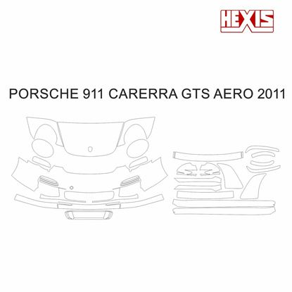 Picture of 911 / 997  2011  Carrera GTS  Aero kit Pre Cut PPF Front and side protection kit