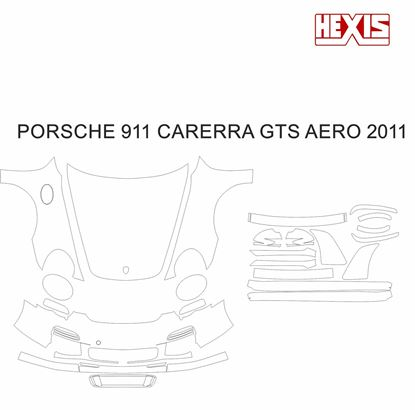 Picture of 911 / 997  2011  Carrera GTS  Aero kit Pre Cut PPF full Front and side protection kit