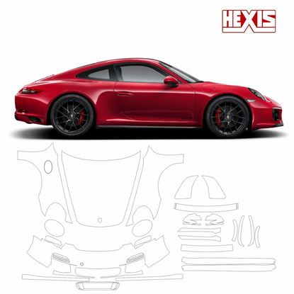 Picture of 911 / 991  2011  Carrera GTS Pre Cut PPF full Front and side protection kit