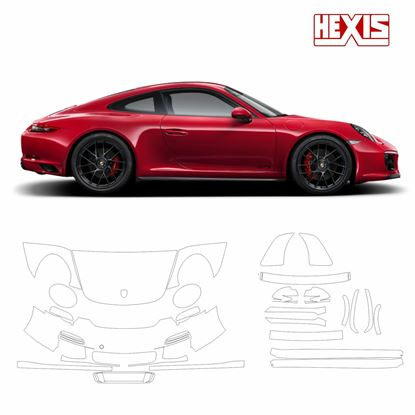 Picture of 911 / 991  2011  Carrera GTS Pre Cut PPF Front and side protection kit