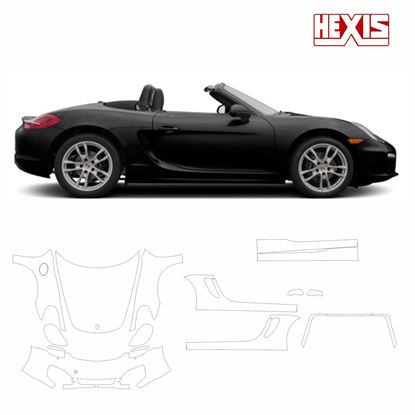 Picture of Boxster 987 2013  Pre Cut PPF full front and side protection