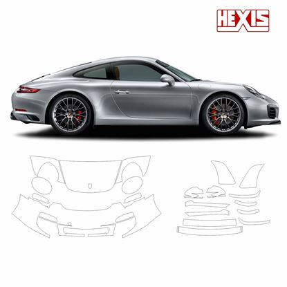 Picture of 911 / 991  2012  Carrera 4S Pre Cut PPF Front and Side protection kit