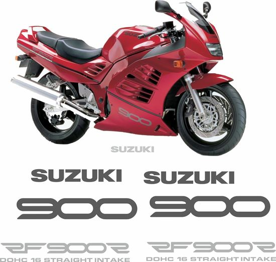 Picture of Suzuki RF900R 1994 - 1997 replacement Decals / Stickers