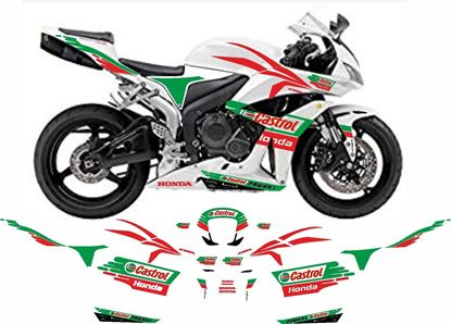 Picture of Honda CBR 6000RR 2011 Team Castrol superbike replica Decals / Stickers