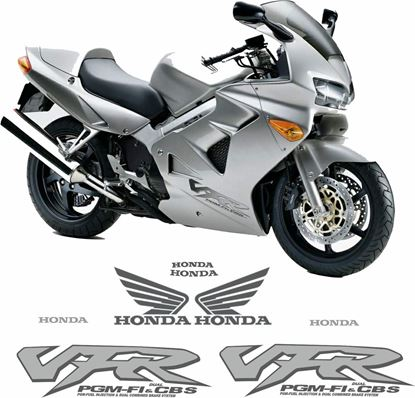 Picture of Honda VFR 800i EU 1998 - 2001 Replacement Decals / Stickers
