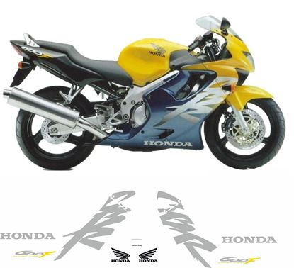 Picture of Honda CBR 600 F4 1999 - 2000 replacement graphics / Stickers