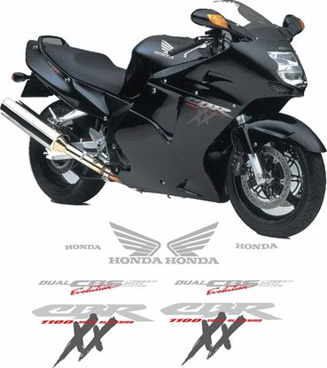 Picture of Honda 1997 -1999 CBR Blackbird  Replacement Decals / Stickers