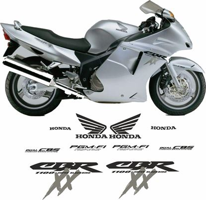 Picture of Honda 2000-2004 CBR Blackbird  Replacement Decals / Stickers