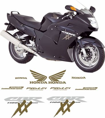 Picture of Honda 2005 - 2007 CBR Blackbird  Replacement Decals / Stickers