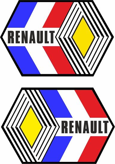 Picture of Renault Classic general panel Decals / Stickers