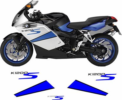 Picture of BMW K 1200S 2007 Decals / Stickers