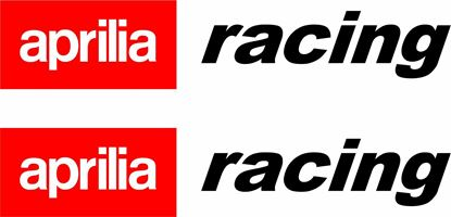 Picture of Aprilia Racing Decals / Stickers