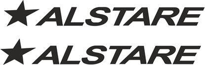 "Picture of ""Alstare"" Track and street race sponsor logo"