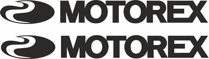 """Picture of """"Motorex"""" Track and street race sponsor logo"""