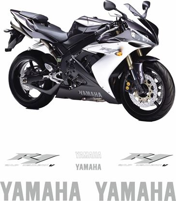 Picture of Yamaha YZF R1 2004 Replacement Decals / Stickers