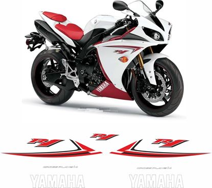 Picture of Yamaha YZF R1 (USA) 2009 Replacement Decals / Stickers