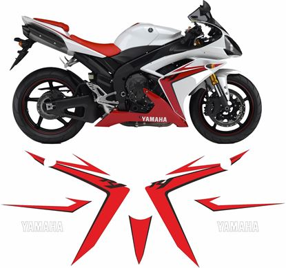 Picture of Yamaha YZF R1 2007 Replacement Decals / Stickers