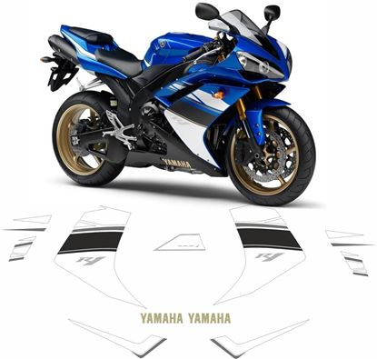 Picture of Yamaha YZF R1 2008 Replacement Decals / Stickers