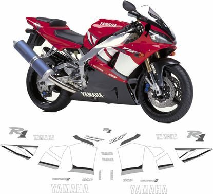 Picture of Yamaha YZF R1 2001  Replacement Decals / Stickers