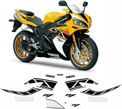 Picture of Yamaha YZF R1 2006 50th anniversary Replacement Decals / Stickers