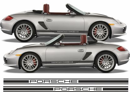 Picture of Porsche  986/ 987 Side stripes / stickers