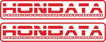 "Picture of ""Hondata"" Honda Decals / Stickers"