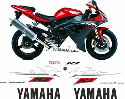 Picture of Yamaha YZF R1 2003  Replacement Decals / Stickers