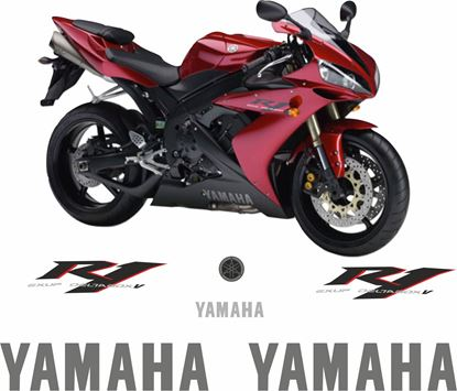 Picture of Yamaha YZF R1 2006 Replacement Decals / Stickers