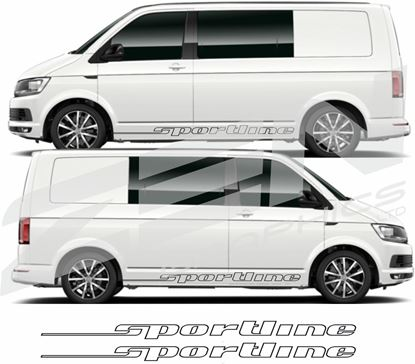 "Picture of VW T5 / T6 ""Sportline"" Script / Stripes"