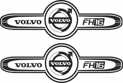 Picture of Volvo FH16 top side cab  Decals / Sticker