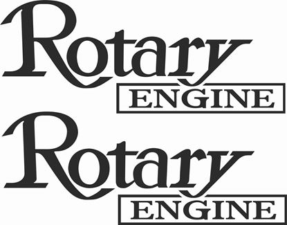 Picture of Mazda Rotary Engine Decals / Stickers