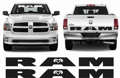"Picture of Dodge ""Ram""Decals  / Stickers"