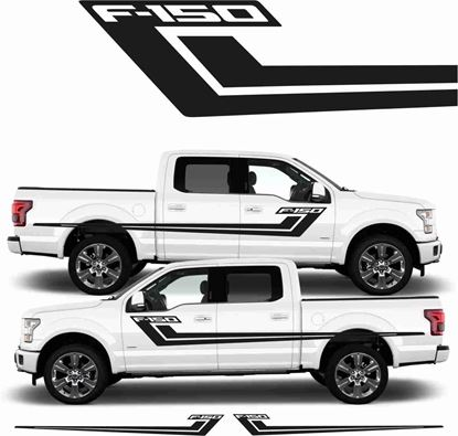 Picture of Ford F-150 side stripes / Stickers