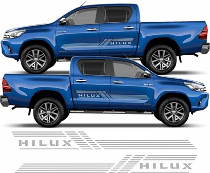 "Picture of Toyota ""Hilux"" side graphics / Stickers"
