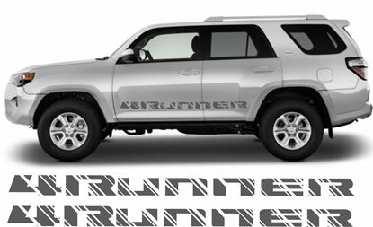 Picture of Toyota 4Runner side Decals  / Stickers