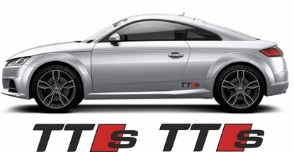 Picture of Audi TTS  Decals / Stickers