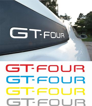 Picture of Toyota Celica GT-Four spoiler Inlay Vinyl Decals / Stickers