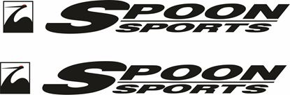 "Picture of ""Spoon Sports"" Honda Decals / Stickers"