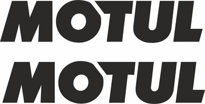 """Picture of """"Motul""""  Decals / Stickers"""