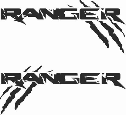 "Picture of Ford ""Ranger"" Decals / Stickers"