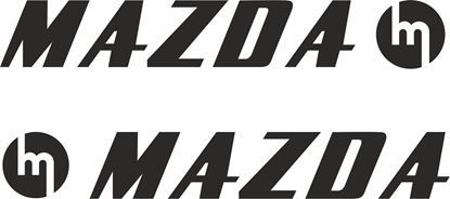 Picture of Mazda Classic  Decals / Stickers