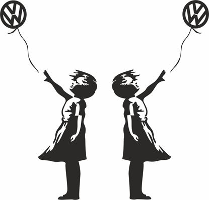 Picture of Banksy VW Decals /Stickers
